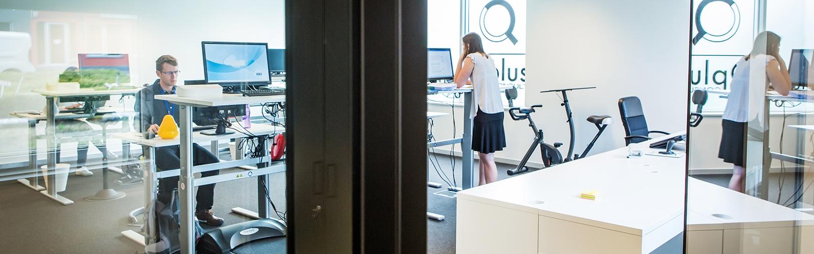 Qplus Office Working